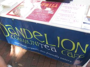 Vegan comfort food? Dandelion Communitea Cafe is the perfect place to start.