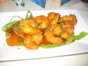 Puerto Rico - Shrimp Appetizer at La Cueva Del Mar