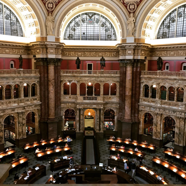 Doing research at the librarycongress as an undergrad I thoughthellip